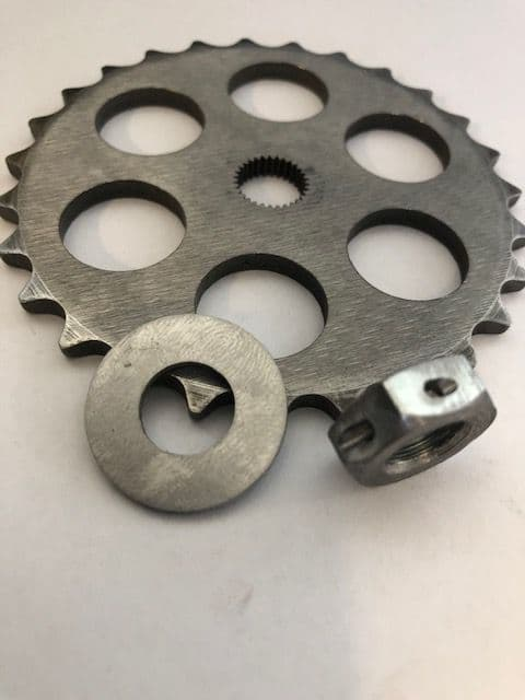 M3 oil pump sprocket and chain conversion kit